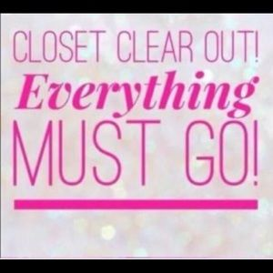 Other - Clear out my closet